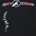 screen printing sky zone shirt