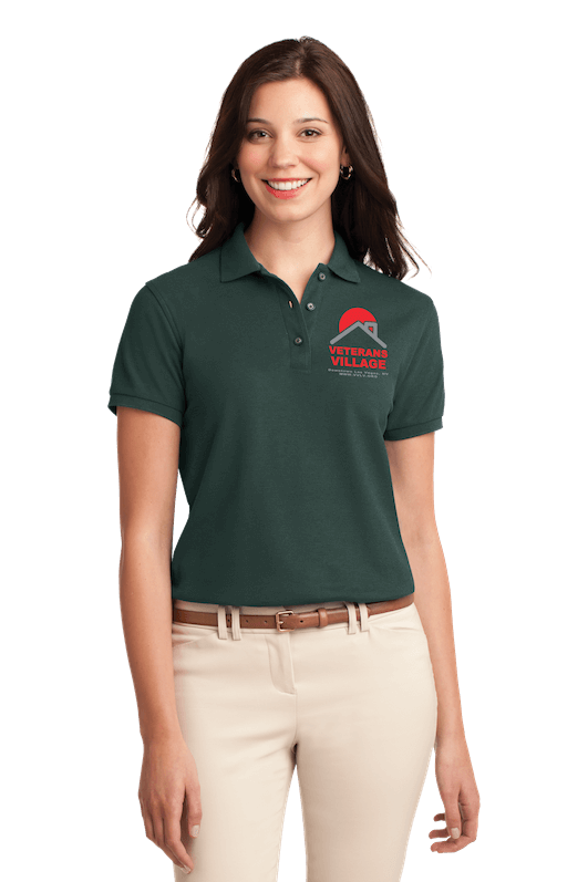 screen printing las vegas green polo model